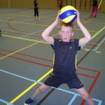 Help Tim aan een team. Kom volleyballen